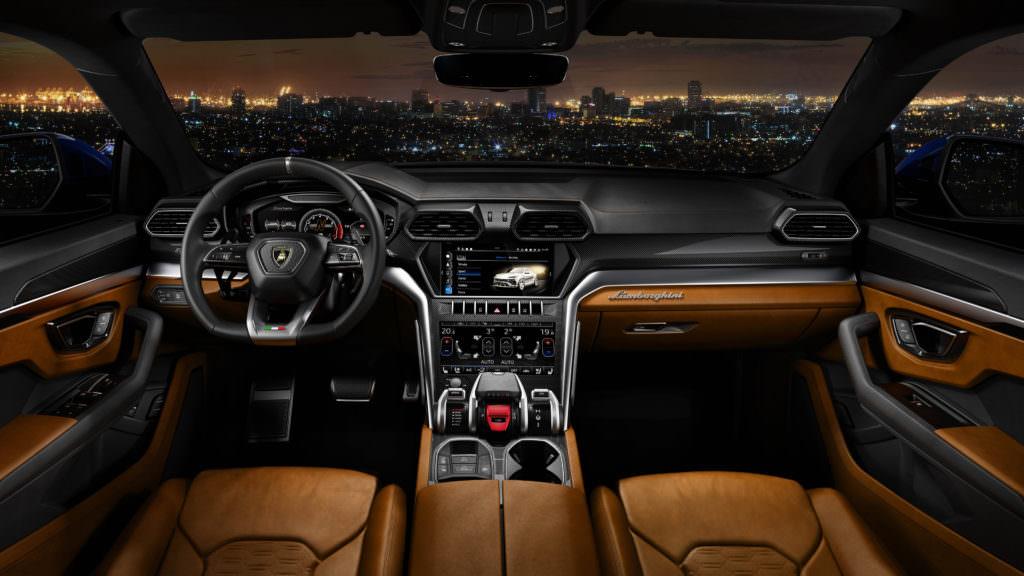 Lamborghini Urus: gli Interni - SpicyView