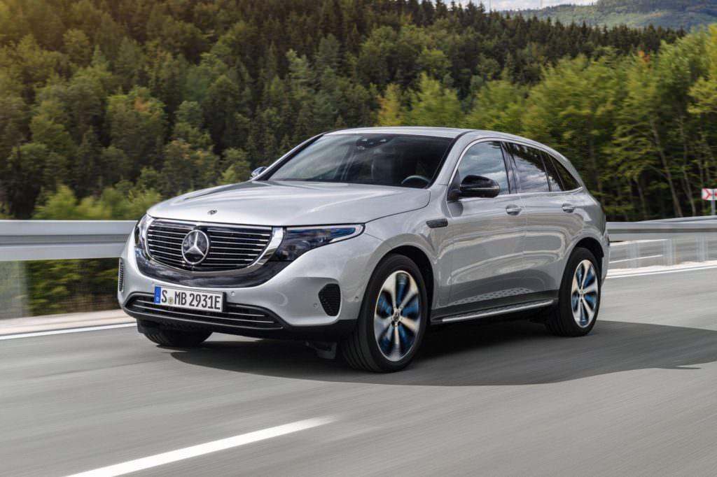 Suv e tecnologia EV: Mercedes EQC Esterni - SpicyView