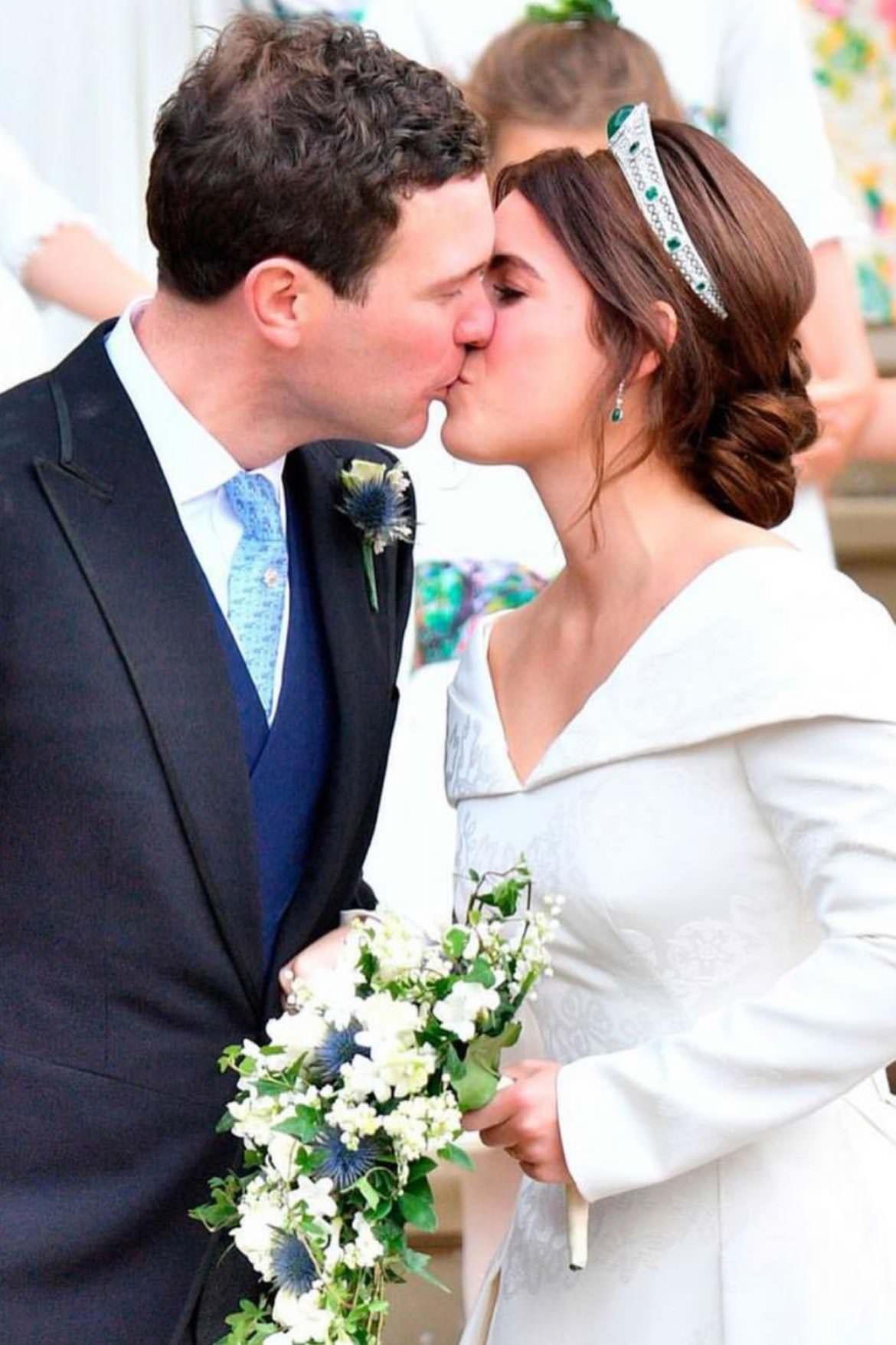 Il secondo matrimonio reale dell'anno: la principessa Eugenie di York si sposa.